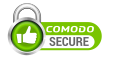 Secured By Comodo and CloudFlare